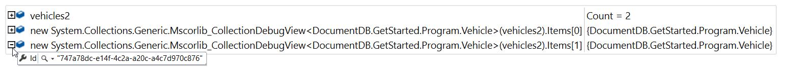 StackOverflow Adventures: DocumentDb and inheritance